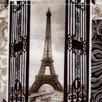 Paris - Vintage Snapshot Collage