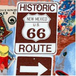 Open Road - Route 66 Scenic Landmarks