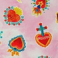 Sacred Heart on Pink