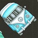 Groovy! Tossed Retro Vans