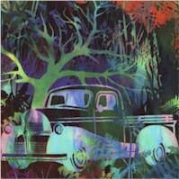 Urban Jungle - Retro Vehicles and Foliage by Jason Yenter