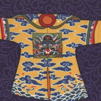 Empress - Tossed Asian Costumes on Blue