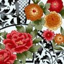 Korakeun - Delicate Asian Style Floral Fans
