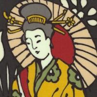 Sukiyaki Stroll - Geishas with Parasols #2