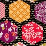 Kimono - Hexagonal Patchwork