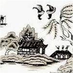 Little Island - Asian Scenic Toile (ORI-oriental-E263)