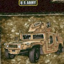 Military Salute - US Army Vehicles in Small Frames by Dan Morris