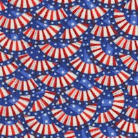 America - Small Scale Packed Bunting