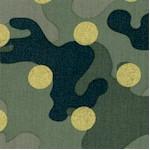 Gilded Polka-Dot Camouflage