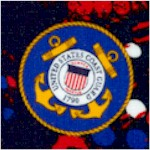 Military Prints - Coast Guard Allover