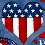 American Heroes II - Stars, Stripes and Hearts