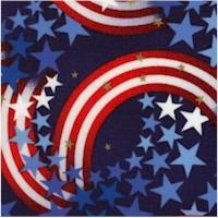 Patriots Metallic Stars and Stripes