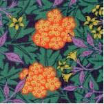 Best of Morris - Morris Jewel Floral by Barbara Brackman (ART-nouveau-X326)