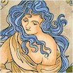 Age of Elegance - Mucha Style Women #1