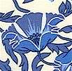 Retro Nouveau Floral - A Quilt for a Cure Fabric