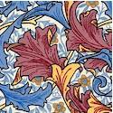 William Morris Acanthus Coordinate #2