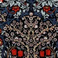 Granada - Blackthorn Floral by Morris & Company