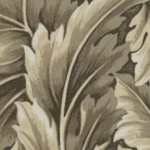 William - Medium Scale Acanthus Leaves - Natural