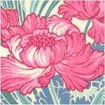 Revive - Cabbage Rose Art Nouveau Floral