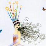 Celebration - Jubilant Women and Butterflies by Masha D'yans