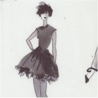 City Chic - Retro Fashion Models in Shades of Gray