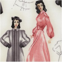 Glamour Girls - Haute Couture Sketches