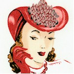 Glamour Girls - Haute Couture Sketches and Portraits