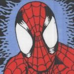 Spiderman Vertical Stripe