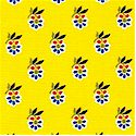 Mabel - Provence Design on Yellow