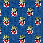 Mabel - Provence Design on Blue