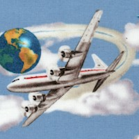 Planes, Trains and Automobiles - Jet Age Scenic