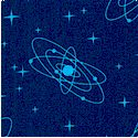 DC Super Friends Retro Atomic Stars #1  - LTD. YARDAGE AVAILABLE (.69 yard) MUST BE PURCHASED IN FUL