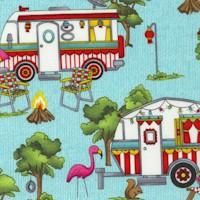 Roamin' Holidays - Festive Campers by Pam Bocko