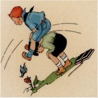 Vintage Treasures - Children at Play #1