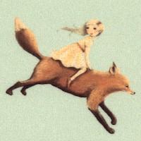 Dream World - Tossed Children Riding Animals by Emily Winfield Martin