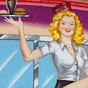Retro Phil�s Drive-In: Vintage Cars and Sexy Carhops #2- BACK IN STOCK!
