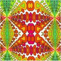 Jumping Beans Collection - Retro Psychedelic Kaleidoscope - 43/44