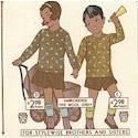Odds & Ends - Vintage Children's Clothing Ads