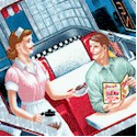 Today's Special - Tossed Retro Diner Snapshots