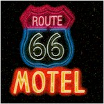 On the Road - Neon Diner, Drive In and Motel Signs