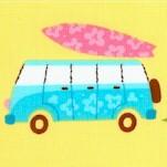 Beachy Keen - Retro Vans and Surfboards