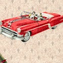 Planes, Trains and Automobiles - Retro Vehicles on Vintage Texture
