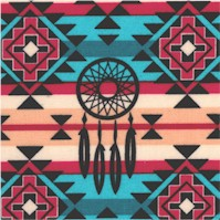 Native Dreamcatcher stripe