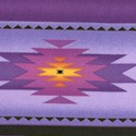 Tucson - Southwestern Stripe in Purple- LTD. YARDAGE AVAILABLE