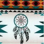 Tucson - Southwest Vertical Stripe - Turquoise