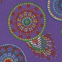 Tucson - Beaded Style Dreamcatchers on Purple