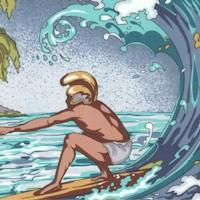 Royal Surfer - Island Paradise Scenic