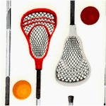 Sports Life 3 - Lacrosse Equipment on Ivory (SP-lacrosse-X689)