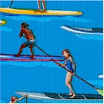 Stand-Up Paddle Boarders