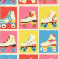 Let the Good Times Roll - Roller Skate Checkerboard